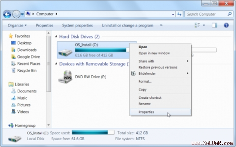1. Chạy Disk Cleanup